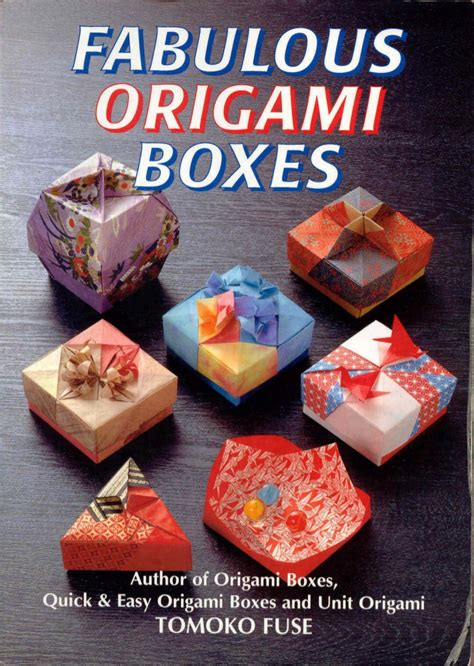 origami boxes tomoko fuse origami boxes by tomoko fuse