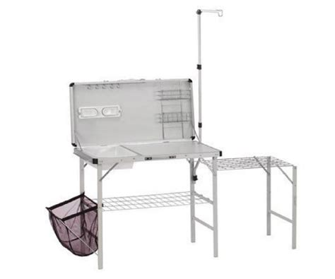 portable cing sink kitchen coleman cing kitchen with sink magnetic outdoor c
