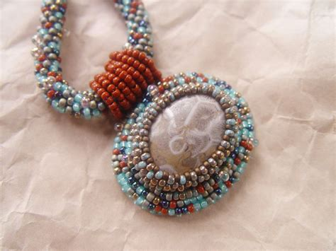 lima bead coral reef necklace customer design lima