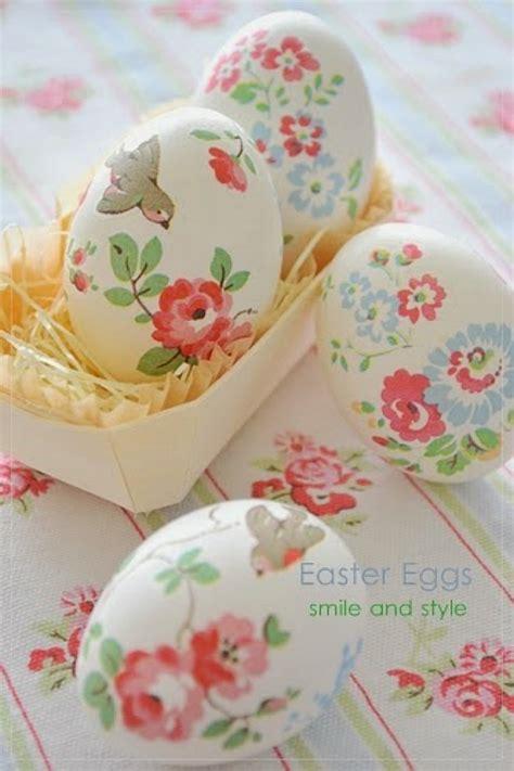 floral decoupage 25 unique easter egg ideas home stories a to z