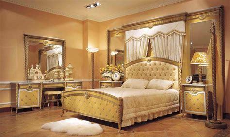 large bedroom furniture sets 4 pc zeus european golden luxury bedroom set with large
