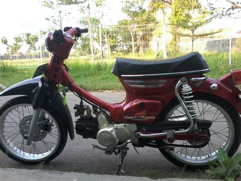 Modifikasi Motor Honda by Modifikasi Honda C70 Pati