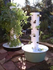 tower vegetable garden tower garden awesome here you can see the big difference