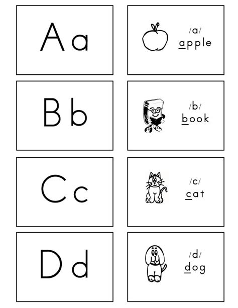 letter cards for words letters of the alphabet activities