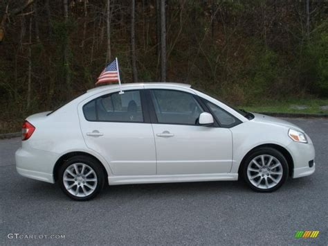 2008 Suzuki Sx4 Sedan by White Water Pearl 2008 Suzuki Sx4 Sport Sedan Exterior