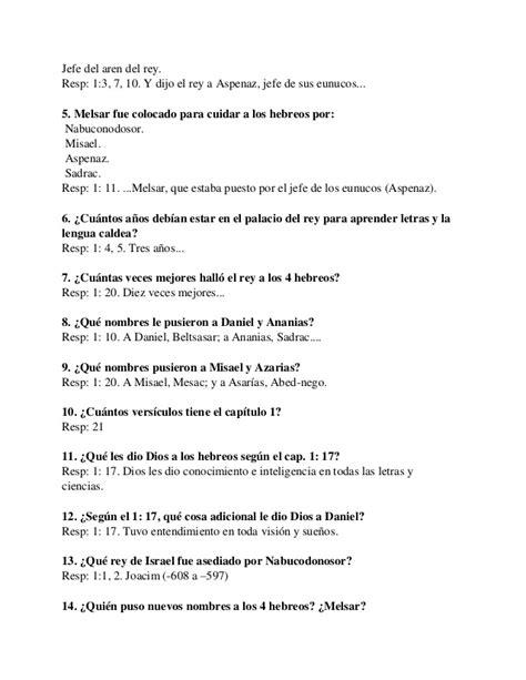 preguntas biblicas con respuestas pdf m 225 s de 90 preguntas y respuestas sobre el libro de daniel