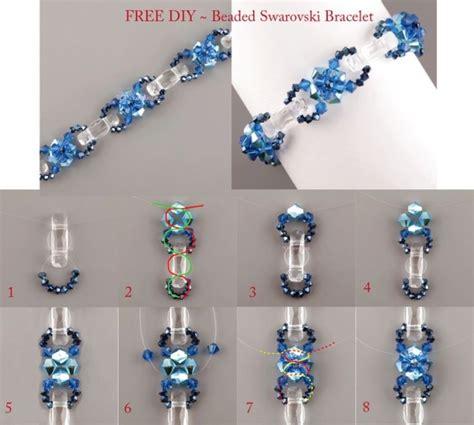 beading lessons free free pattern sea bracelet beaded swarovski
