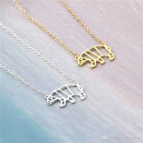 origami jewelry wholesale wholesale 2017 newest unique origami animal necklace