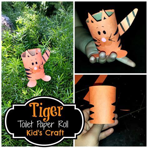 easy toilet paper roll crafts diy easy tiger toilet paper roll craft for crafty
