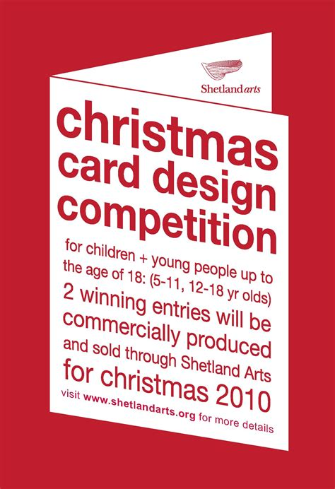 card competition card design competition shetland arts