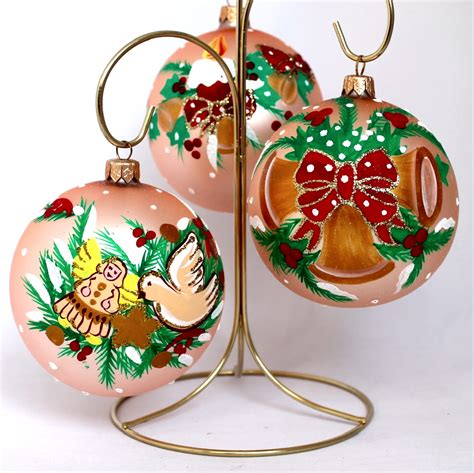 american glass ornaments set golden yolkstar