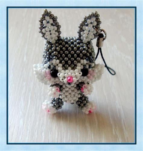 3d bead animals patterns free брелок quot багз банни quot biser info всё о бисере и бисерном