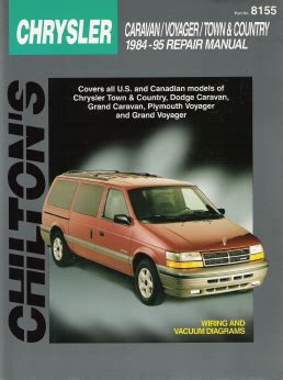 car repair manual download 1992 plymouth grand voyager instrument cluster 1984 1995 chrysler town country dodge caravan plymouth voyager chilton manual