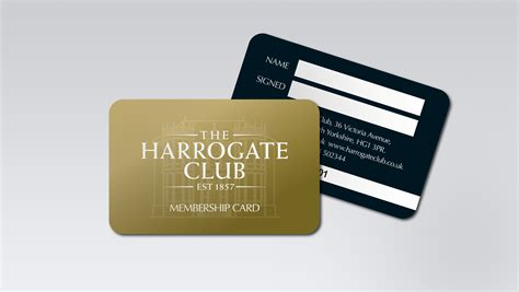 make membership cards free membership card design for the harrogate club membership