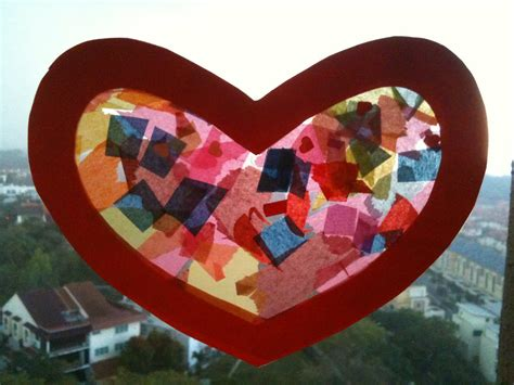 valentines craft preschool crafts for s day sun