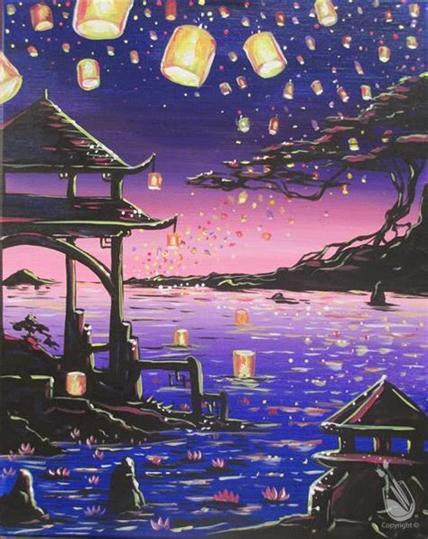 paint with a twist temple floating lanterns temple canceled thursday