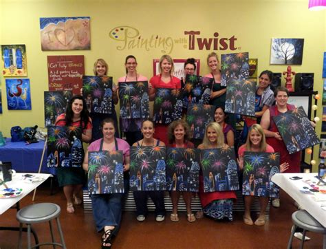 paint with a twist cincinnati painting with a twist