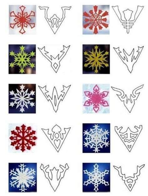 paper snowflake crafts 40 paper snowflake garlands for decorating