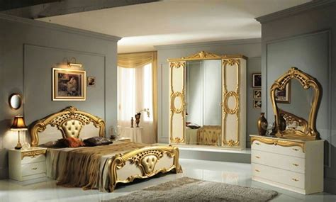 high gloss bedroom furniture high gloss beige gold italian bedroom furniture homegenies