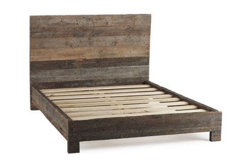 wood bed frames and headboards coyuchi crafted bed frames and headboards