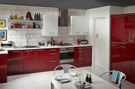 b q diy catalogue kitchen cooke lewis raffello high gloss slab diy at b q