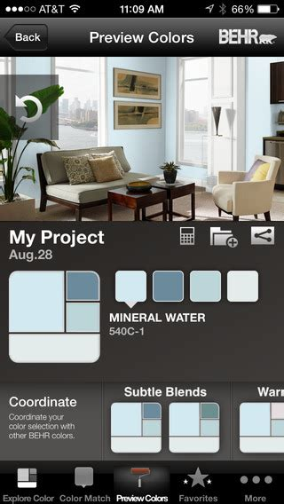 home depot paint iphone app colorsmart by behr 174 mobile iphone 通用版 app每日推送