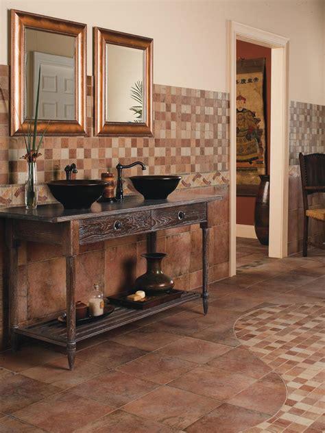 ceramic bathroom tile ideas ceramic tile bathroom floors hgtv