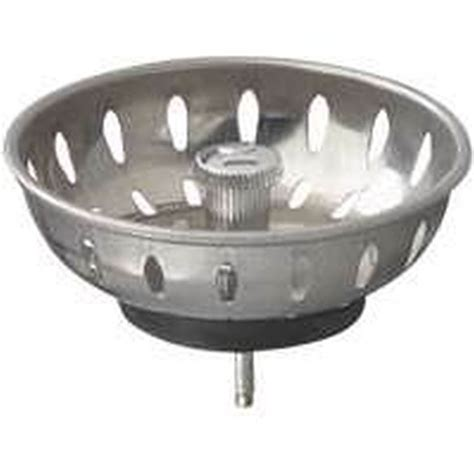 kitchen sink basket replacement plumbpak pp820 22 replacement sink basket strainer with