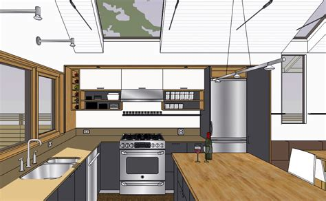 sketchup kitchen design http chezerbey 2010 february chezerbey