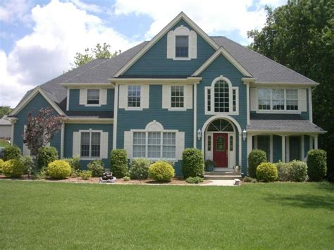 exterior house paint colors pics blue exterior house color schemes