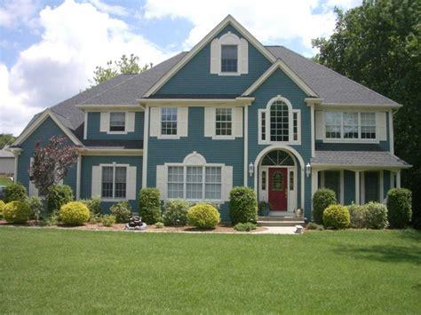 paint colors for my house exterior blue exterior house color schemes