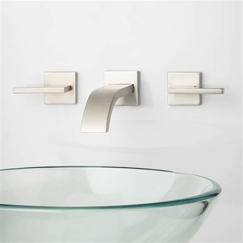 modern bathroom faucets and fixtures ultra wall mount bathroom faucet lever handles wall