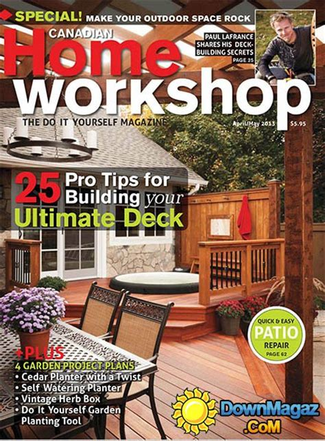 canadian woodworking magazine woodworking magazine canada diy woodworking project