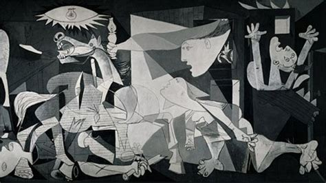 picasso paintings during civil war picasso s guernica in a car showroom news