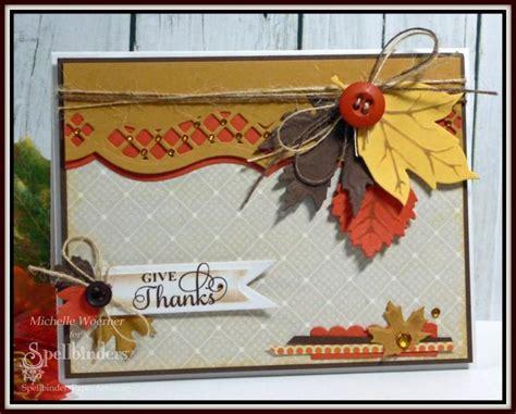 thanksgiving cards to make at home diy handmade card by designer woerner for