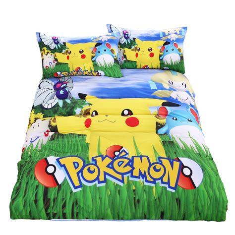 pikachu bed set popular bedding buy cheap bedding lots
