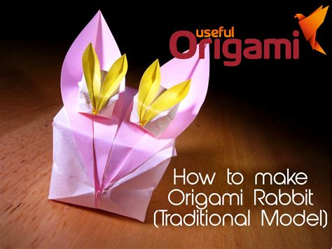 how to make a bunny origami origami easter bunny photo diagrams lesson 13