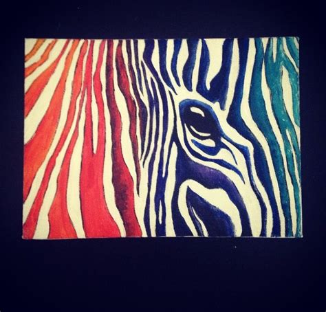 acrylic painting zebra zebra acrylic painting my projects