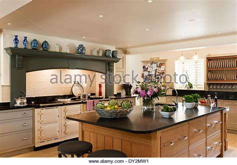 oak kitchen island units wooden island unit in large stock photos wooden island