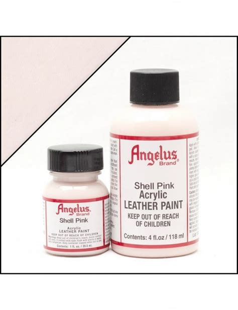 angelus paint sale angelus dyes paint shell pink 1oz leather paint
