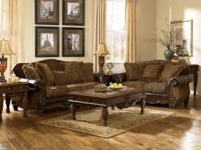 Ashley Furniture Fresco 63100 DuraBlend Antique Living Room Set   Furniture PM