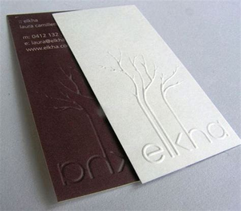 card embossing 60 beautiful creative embossed business cards web