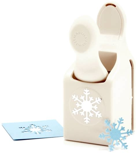 martha stewart craft for martha stewart snowflake craft punch