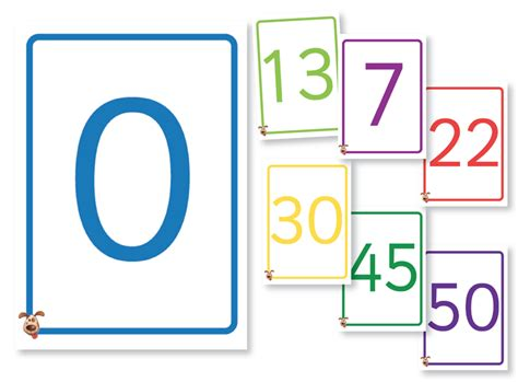 number templates for card numbers 1 to 50 number 50 template large number