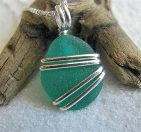 how to make jewelry out of sea glass how to make wire wrapped jewellery with sea glass from the