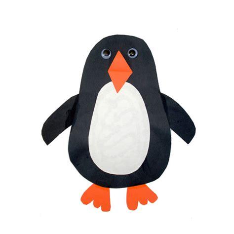 paper penguin craft penguin crafts 171 grandmother wren