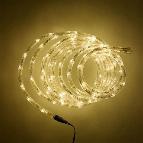 led lights white 5m warm white led connectable rope light type u