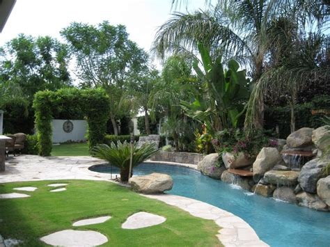 tropical backyard design ideas tropical backyard landscaping ideas home design elements