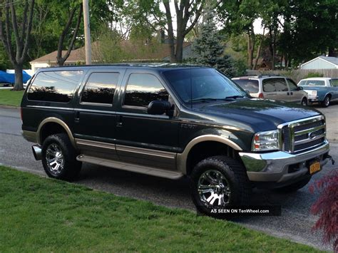 2001 Ford Excursion by 2001 Ford Excursion Limited Sport Utility 4 Door 7 3l