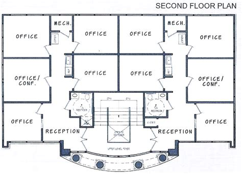 building floor plan 2 storey office building floor plan